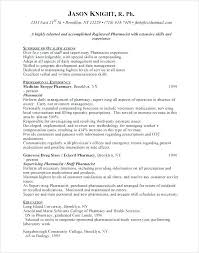 Pharmacist Resume Sample Retail Latest And Objective Pharmacy Assistant Objecti