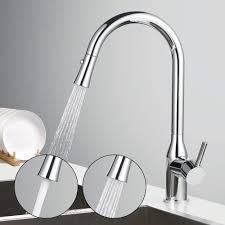 Kテシche Wasserhahn Mit Brause Einhand Wasserhahn Küche Ausziehbarer 360 Drehung Chrom Armatur Für Spüle Homelody