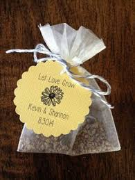Basket full of promise See more seed packet wedding favors and