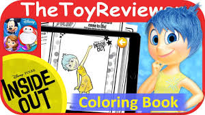 Disney Pixar Inside Out Color Play Come To Life In 3D Coloring Review By TheToyReviewer