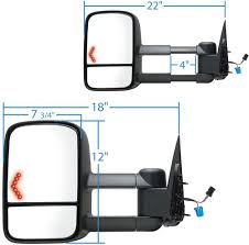 K-Source Custom Extendable Towing Mirrors - Electric/Heat W LED ... Semi Truck Mirror Exteions Image And Description Imageloadco Best Towing Mirrors 2019 Hitch Review Replacement Side View Rear Custom Factory Want Real Tow Mirrors For Your Expy Heres How Lot Of Pics Ford Ksource Snap Zap On Driver Cipa 11300 Set Fits 0718 Sequoia Pair 0408 F150 No Blind Spot Hammacher Schlemmer Brents Travels Do You Need Extended Truckcamper Rv How To Find The Cheapest Replacements Rvsharecom Amazoncom Fit System Black 80710 Ram 1500