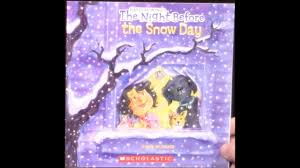 Twas The Night Before Halloween Book by The Night Before The Snow Day Youtube