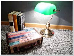 Emeralite Lamp Shade 8734 by Lámpara De Banquero Un Clásico En El Cine Y La Decoración
