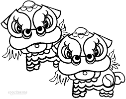 Free Printable Coloring Chinese New Year Pages 27 With Additional For Kids Online