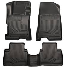 Honda Accord Floor Mats 2006 by Amazon Com Husky Liners Front U0026 2nd Seat Floor Liners Fits 08 12
