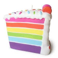 Lovely Slice Cake Clipart Birthday Cake Slice Rainbow and Birthday