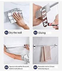 für badezimmer wc küche ablage 40cm handtuchhalter ohne