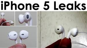 iPhone 5 Headphones Leaked NEW Design Modern In Ear Angle Fit