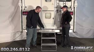 How To Install Torklift International GlowStep - Truck Camper Steps ...