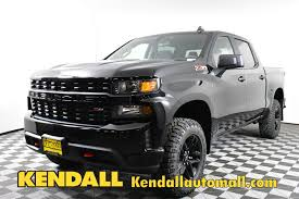 100 Custom Pickup Trucks For Sale New 2019 Chevrolet Silverado 1500 Trail Boss 4WD Truck Crew