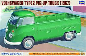 Amazon.com: HASEGAWA 21211 1/24 VW Type 2 Pickup Truck: Toys & Games