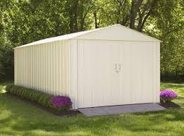 Arrow Shed Assembly Tips by Arrow Commander Series 10 U0027 X 20 U0027 Steel Shed At Menards