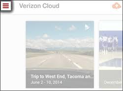Tap the Navigation Menu Icon