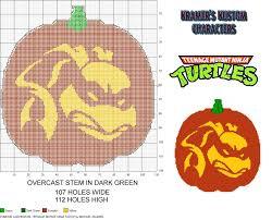 Werewolf Pumpkin Carving Ideas by Pumpkin Carvings 6 Teenage Mutant Ninja Turtle Plastic Canvas