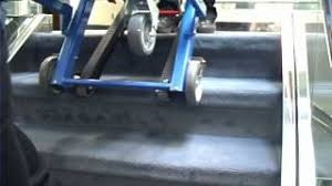 Ferno Stair Chair Instructions by Ferno Training 59t Ez Glide Stair Chair Youtube