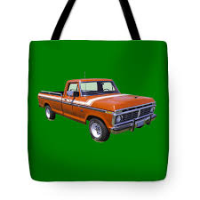 1975 Ford F100 Explorer Pickup Truck Tote Bag For Sale By Keith ...