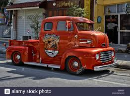 100 1950 Ford Truck Highly Renovated Vintage F6 Pickup Truck Stock Photo
