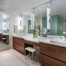Bathroom Vanities With Matching Makeup Area by Modern Makeup Vanity Foter