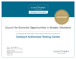 CEOGC Job Testing Center Receives Certiport Authorization The