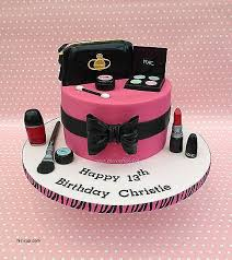 Spa Themed Birthday Cakes Best Of Designer Make Up Cake By The Crafty Kitchen Sarah
