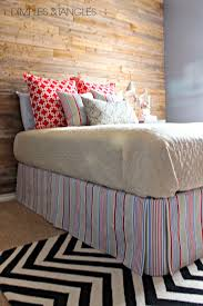 Box Pleat Bed Skirt by How To Make A Simple Diy Bedskirt Dimples And Tangles
