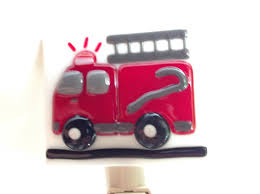 Boys Fire Truck Night Light Fused Glass By LaGlasSea On Etsy | Fused ... Flashing Emergency Lights Of Fire Trucks Illuminate Street West Fire Truck At Night Stock Photo Image Lighting Firetruck 27395908 Ladder Passes Siren Scene See 2nd Aerial No Mess Light Pating Explained Led Lights Canada Night Winter Christmas Light Parade Dtown Hd 045 Fdny Responding 24 On Hotel Little Tikes Truck Bed Wall Stickers Monster Pinterest Beds For For Ambulance And Firetruck Gta5modscom Nursery Decor How To Turn A Into Lamp Acerbic Resonance Art Ideas Explore 16 20 Photos 2 By Fantasystock Deviantart