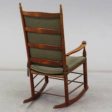 An Early 20th Century Rocking Chair. - Bukowskis