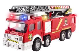 100 Fire Truck Sirens Toy Rescue With Shooting Water Lights And Sounds