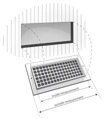 Floor Heater Grate Cover by Measure Vent Covers Ventandcover Com