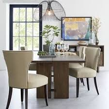 facet extension dining table crate and barrel dining rooms