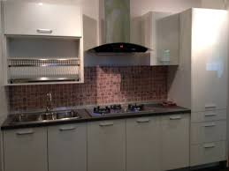 Small One Wall Kitchen Designs Single Galley