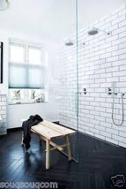 new york xl flat brick gloss white metro brick wall