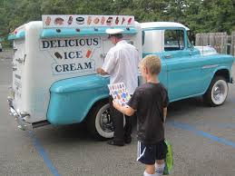 Old School Ice Cream Truck | Www.topsimages.com