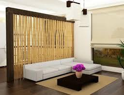 wohnzimmer gestalten bambus wand freshouse