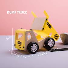 Amazon.com: Stanley Jr.. - Dump Truck Kit, Medium Wood Building Kits ...