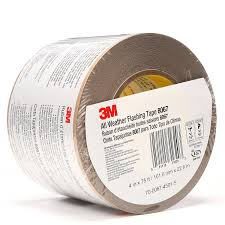 Vycor Deck Protector Or Vycor Plus by 3m All Weather Flashing Tape 8067 Tan 2 In X 75 Ft Slit Liner 1