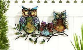 Owl Bedroom Wall Stickers by Wall Ideas Owl Wall Decor Owl Wall Decor Stickers Metal Owl