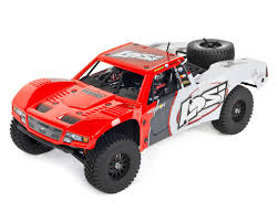 100 Losi Trucks Baja Rey 110 RTR Trophy Truck Red LOS03008T1 Cars
