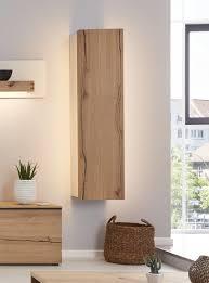 interliving wohnzimmer serie 2103 hängeelement mit beleuchtung mattweißer lack asteiche eine tür rechts höhe ca