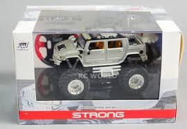 100 Rc Model Trucks RC 143 Radio Control RC Micro Monster Truck HUMMER W LED Lights