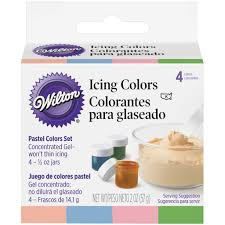 Wilton Decorator Preferred Fondant Michaels by Buy The Wilton Icing Color Set Pastel At Michaels