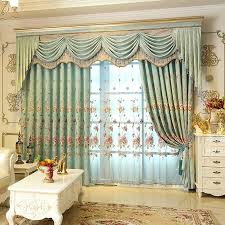 creative design valance curtains for living room fashionable