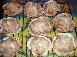 cuisiner les coquilles st jacques surgel馥s recette de coquilles jacques à la françoise