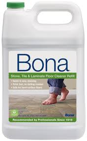 bona tile and laminate floor cleaner refill 128 ounce