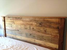 Diy King Size Headboard Pallet Plans To Build