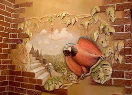 wandmalerei im innenraum arten und methoden der dekoration