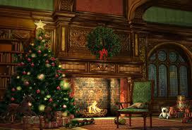 kate weihnachten kamin wohnzimmer hintergrund fotografie