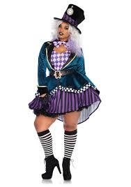 plus size ladies delightful mad hatter costume