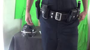 police officer duty belt set up youtube