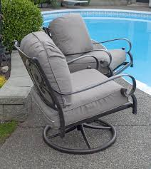 100 Rocking Chair Wheelchair Patioflare Deep Seating Aluminum Swivel S 2pack